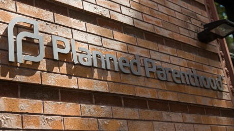 A Planned Parenthood location is seen on August 5, 2015 in New York City. The women's health organization has come under fire from Republicans recently after an under cover video allegedly showed a Planned Parenthood executive discussing selling cells from aborted fetuses.
