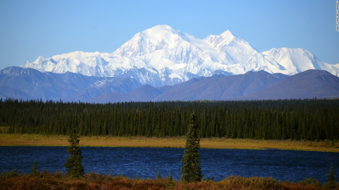 "Formerly called Mount McKinley, Denali is now known by the Native Alaskan (Athabascan) name it's held for thousands of years. <a href=""http://www.usgs.gov/newsroom/article.asp?ID=4312#.VenJThFVhHx"" target=""_blank"">Denali's summit is 20,310 feet</a> and is the highest mountain peak in North America."
