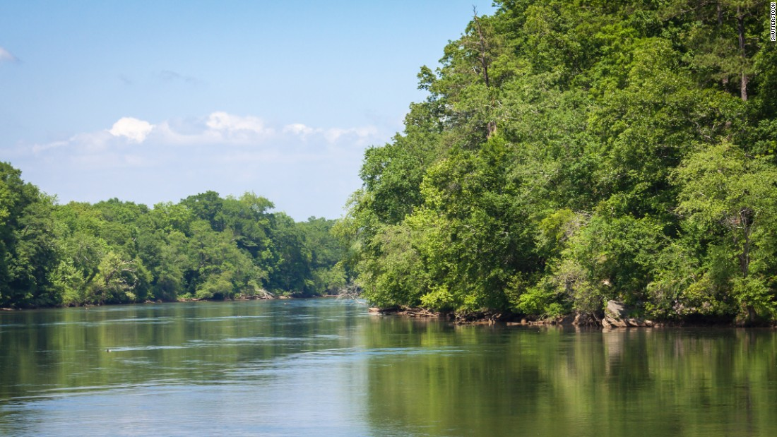 """The Chattahoochee River National Recreation Area in Georgia -- and the river for which it's named -- retains its Native American name, which is <a href=""""http://www.nps.gov/chat/planyourvisit/brochures.htm"""" target=""""_blank"""">thought to mean </a>""""'River of Painted Rocks."""""""