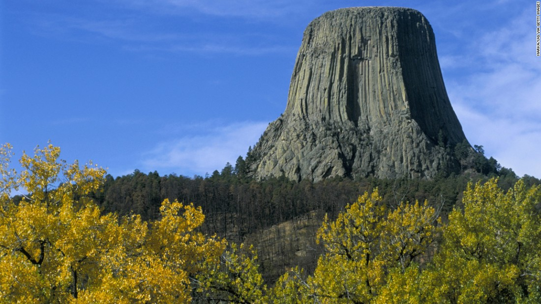There's a movement by some activists to change the name of Devils Tower National Monument in Wyoming to Bear Lodge National Monument.