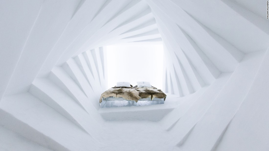 The Icehotel is the closest we'll ever get to visiting Superman's frozen Fortress of Solitude.