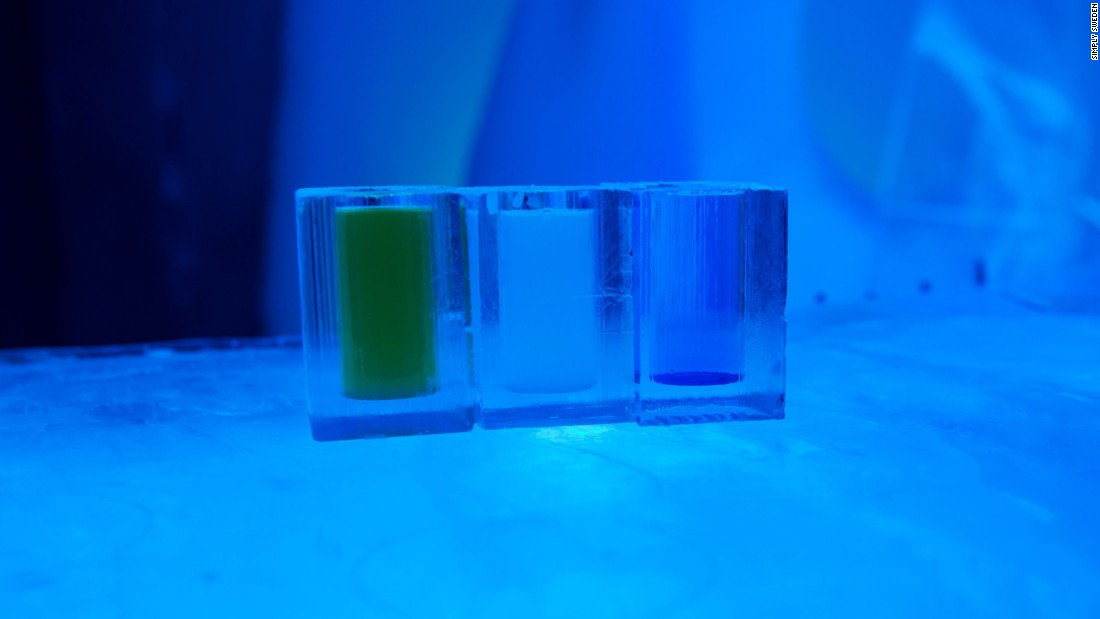 About 27,000 cocktails are consumed each season in the Icebar, which now has branches worldwide.