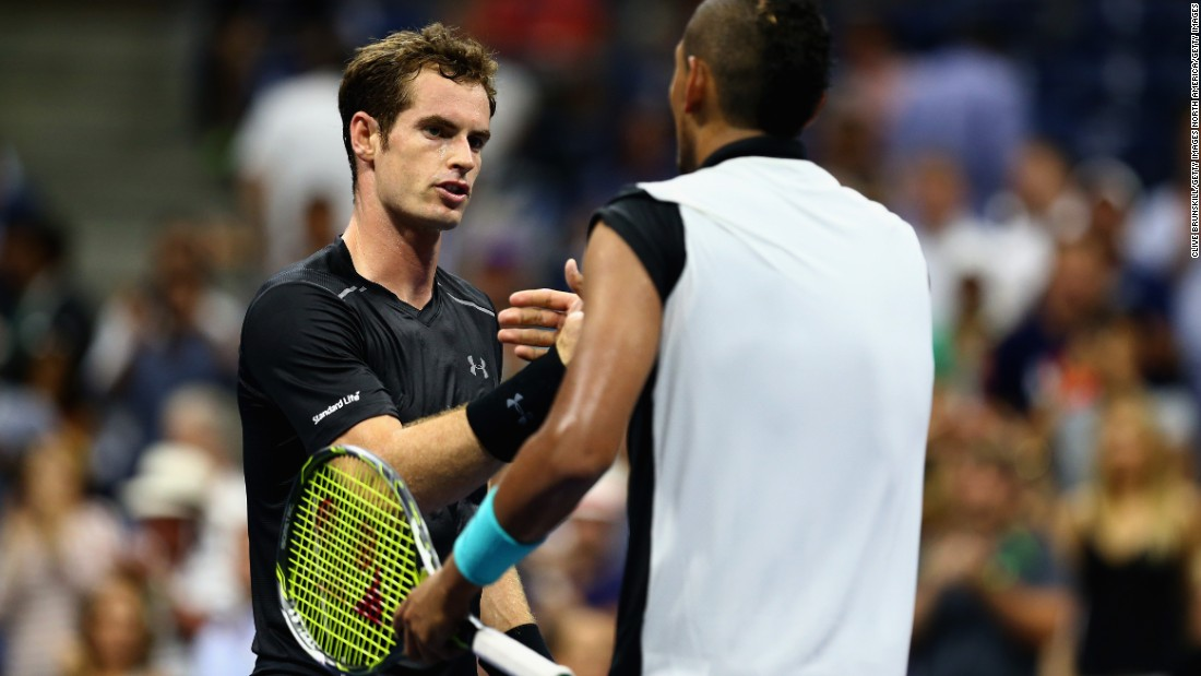 He did get the better of Murray at the Hopman Cup, an Australian Open warmup, in January.