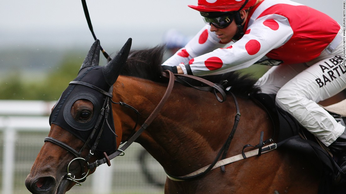 The 24-year-old has let her riding do the talking winning a succession of races this year. Here, she can be seen riding Imshivalla to a win at The Whiteley Clinic Stakes at Goodwood racecourse on August 29.
