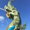 Thailand southern cities Laem-Son-On-Dragon-Head-Statue-2
