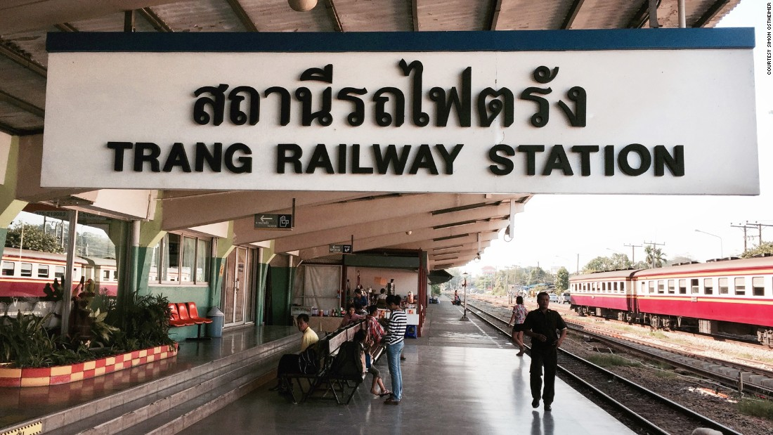 Located southeast of Phuket, Trang is an important rail link to Laos and Singapore. Near the station, the Kopi 1942 cafe serves great dim sum, dumplings and coffee, southern Thai style.