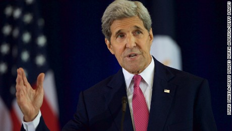 PHILADELPHIA, PA - SEPTEMBER 2:  U.S. Secretary of State John Kerry delivers a speech on the nuclear agreement with Iran at the National Constitution Center on September 2, 2015 in Philadelphia, Pennsylvania. U.S. Sen. Barbara Mikulski (D-MD) announced her support for the Iran nuclear deal, becoming the 34th Democratic senator to back the president. (Photo by Mark Makela/Getty Images)