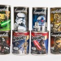 Campbell's star wars soup cans