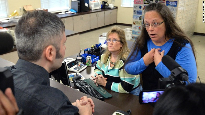 Judge sends Kim Davis to jail