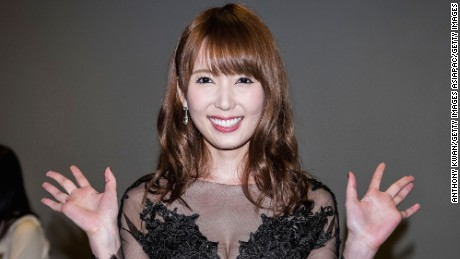 Japanese actress and model Yui Hatano, 27, has appeared in over a dozen adult films.