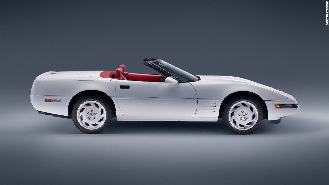 "Perhaps one of GM's best-known vehicles was the Chevrolet Corvette, first produced in 1953. When the company's 1 millionth 'Vette was crushed in a giant sinkhole, it was <a href=""http://edition.cnn.com/2015/09/03/travel/sinkhole-1-millionth-corvette-restoration-reveal/"">restored in loving detail</a>, pictured."