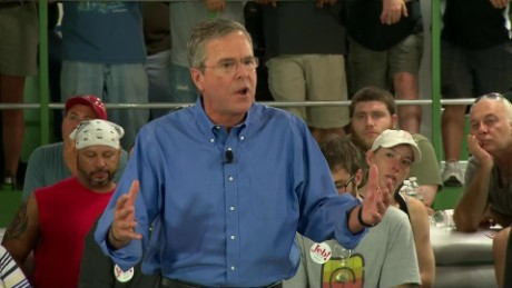 jeb bush donald trump pessimism insults sot_00003406