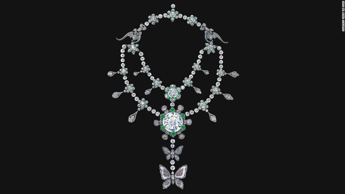 "Chow Tai Fook estimates that the market would conservatively value all the finished materials united in ""A Heritage in Bloom"" at $200 million. The jeweler says it has no immediate plans to sell it."