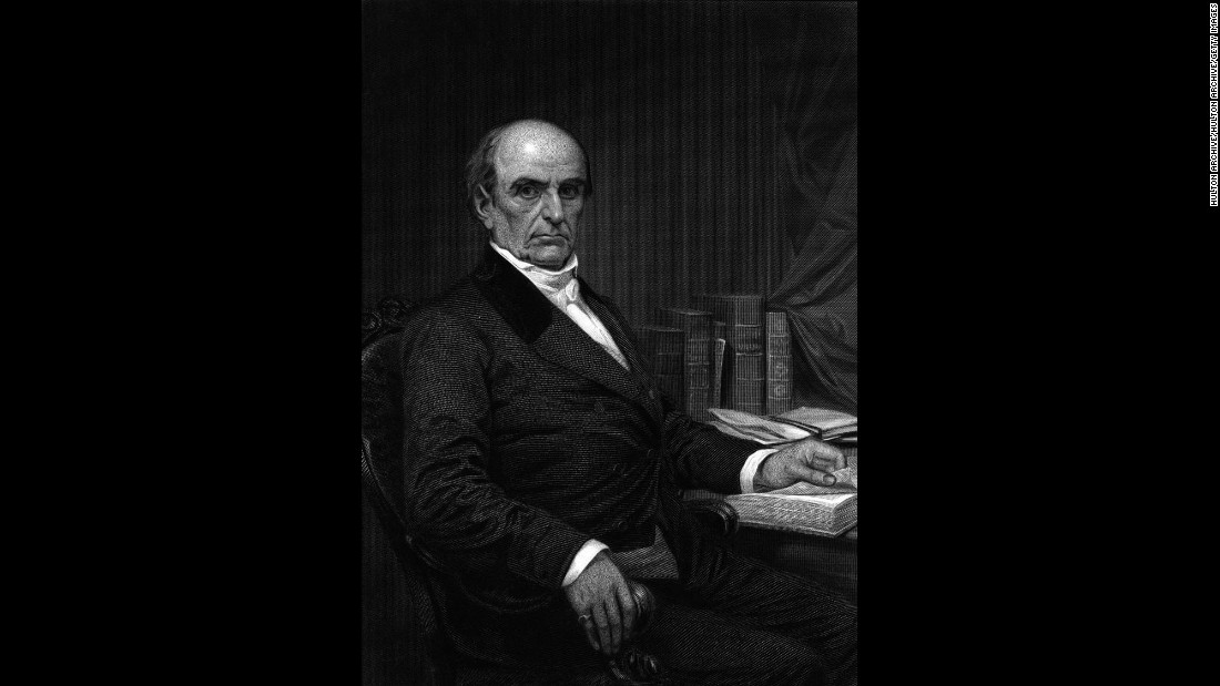 Daniel Webster, the former senator and secretary of state, left a grandson a snuffbox and some fishing tackle.