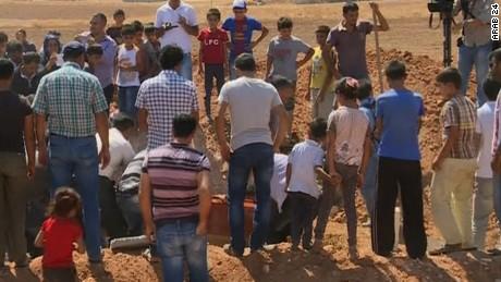 Aylan Kurdi funeral