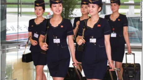 New look for North Korea's Air Koryo.
