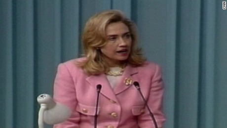 1995: Hillary Clinton's speech on women's rights