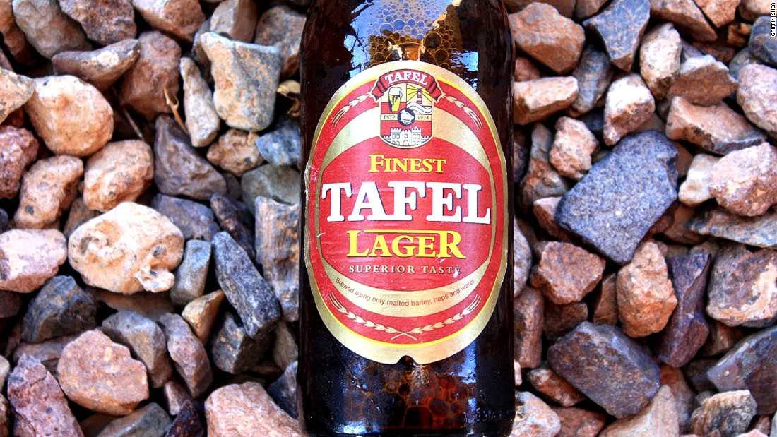 While most Namibian beers have always been made in the capital Windhoek, some, like Tafel Lager and Hansa Pilsner, originate from the tiny seaside city of Swakopmund.