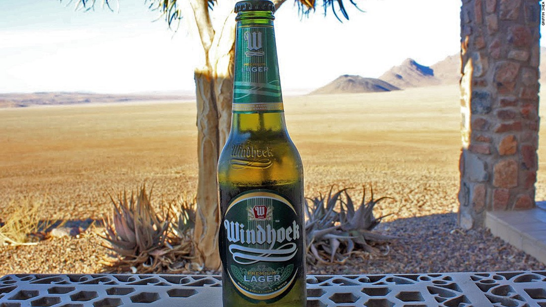 One of the most familiar Namibian beers, Windhoek Lager is a popular export, enjoyed in South Africa and further afield.