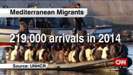 exp Eugenio Ambrosi, International Organization for Migration, discusses the ongoing migrant crisis  _00002001