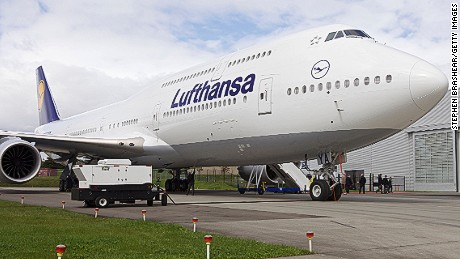 EVERETT, WA - MAY 1:  A Boeing 747-8 Intercontinental airliner which was delivered to launch partner Lufthansa sits on the tarmac at the Boeing factory at Paine Field Airport May 1, 2012 in Everett, Washington. Deutsche Lufthansa AG is the first commercial airline to deploy the new 747-8 Intercontinental and has ordered twenty.