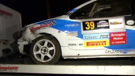 spain deadly rally car crash vo_00001502