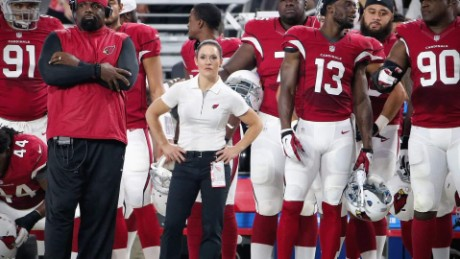 First female NFL coach speaks on being a trailblazer