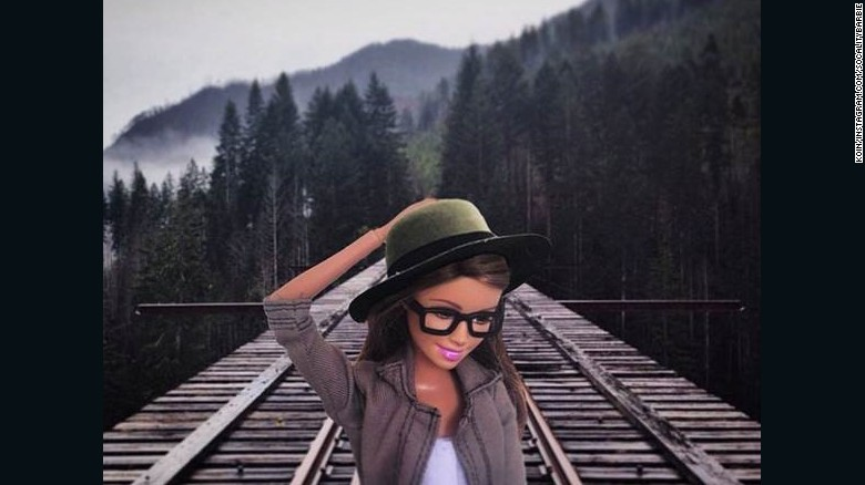 'Hipster Barbie' is secretly like your friends