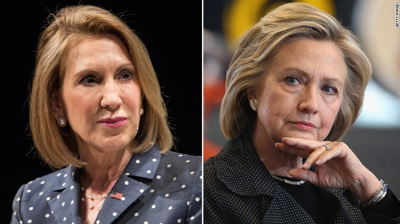Clinton laughs at Fiorina 'strangle' remark