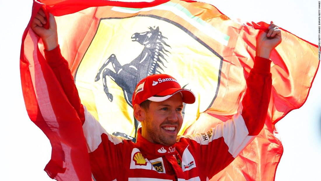 Vettel is a three-time winner of the Italian Grand Prix, but he has yet to take the checkered flag for his current team Ferrari which he joined in 2015.