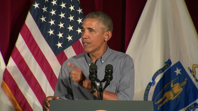 Obama: 'Even Brady's happy he's got a union'