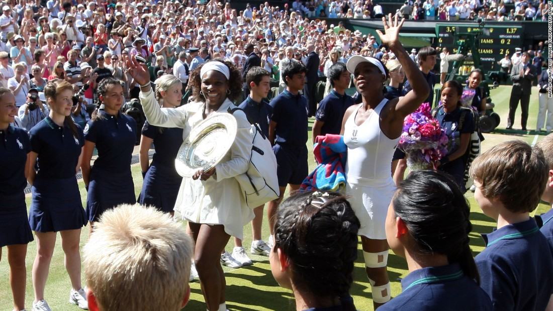 The last time the Americans met in a major final was in 2009, where Serena was victorious on Wimbledon's Centre Court.