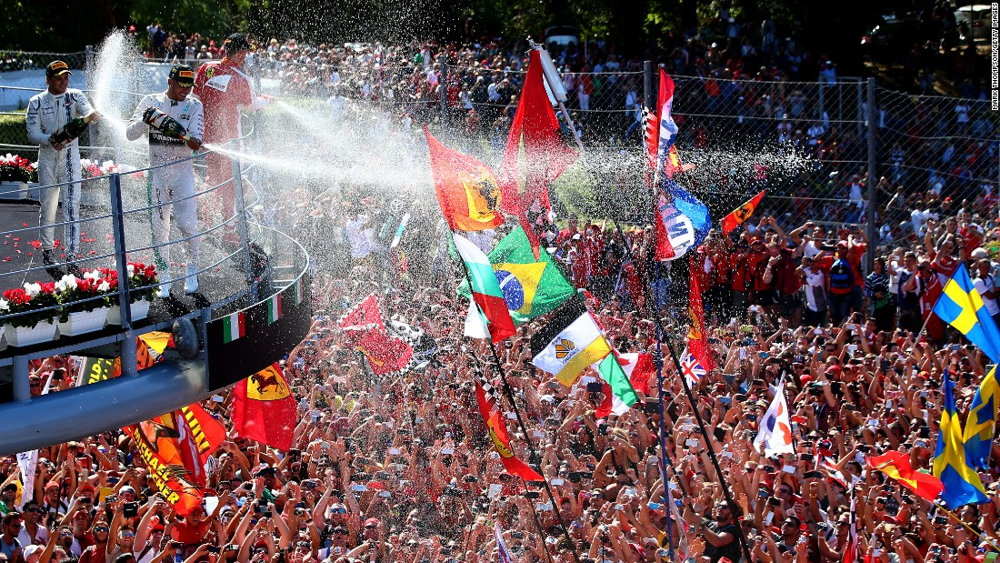 "September's Italian Grand Prix at Monza saw Hamilton finish more than 25 seconds clear of Ferrari's Sebastian Vettel to take top spot and extend his championship advantage to 53 points with seven rounds remaining -- but only after surviving a stewards' investigation. ""The stewards are satisfied that the team followed the currently specified procedure supervised by the tire manufacturer for the safe operation of the tires,"" a statement said after Mercedes was investigated on the grounds that the tires were below the minimum permitted pressure."
