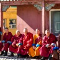 beautiful mongolia 22 Buddhist monks at Gandan Monastery