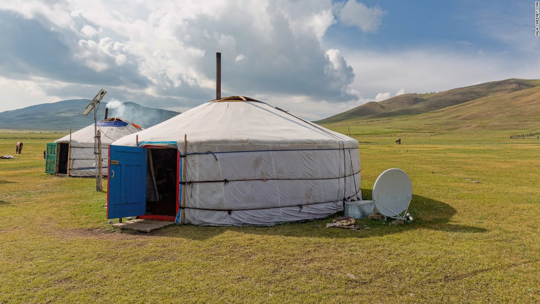 Every ger in the Mongolian countryside is a potential rest stop and sometimes a hotel. <br />Nomadic life can be lonely so visitors are warmly welcomed and tradition dictates they can enter without being invited in. <br />Even if there's no one at home, it's OK for visitors to help themselves to the food purposely left behind in case a guest drops by.<br />When visiting a Nomadic family in the countryside, its polite to bring some presents. <br />Small, practical gifts such as nail clippers, pens and food -- especially fresh fruit -- are usually appreciated.