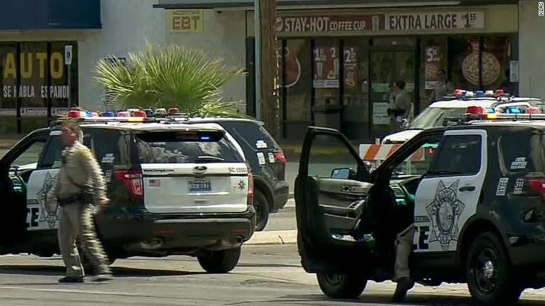 Police ID Las Vegas officer who shot man brandishing BB