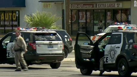 las vegas officers ambushed traffic light valencia dnt erin_00000815