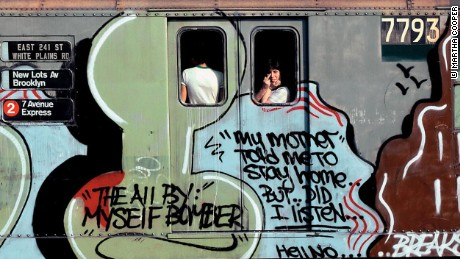 Gritty and Graffitied: Street art with photographer Martha Cooper