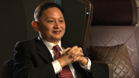 Goh choon phong, CEO of Singapore Airlines