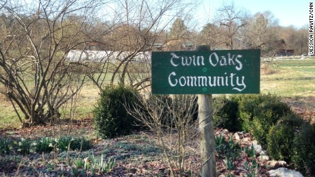 Welcome to Twin Oaks, a world free of bills and bosses, where gourmet meals are presented at no cost and saving for retirement is a pointless exercise.
