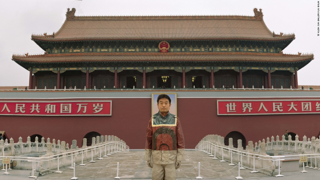 "Liu Bolin's first series, Hiding in the City, began in 2005. He camouflaged himself into the ruins of his demolished art studio as a form of silent protest. ""After that,"" Liu says, ""I shifted my focus to heated social issues.""<br />"