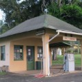 Leprosy colony Hawaii NPS Park gas station