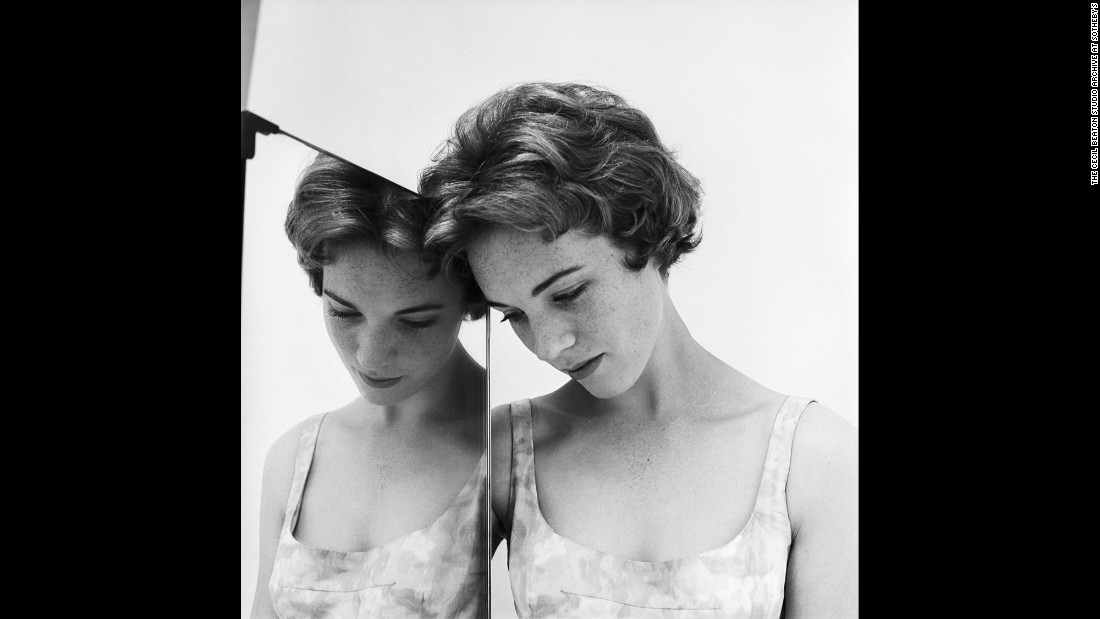 "As befitting an Englishman born to the upper classes and educated at Harrow and Cambridge, the photographs of Sir Cecil Beaton often have an elegant formality to them. No wonder he was a favorite of celebrities and aristocrats, capturing a languid glamour in such performers as Julie Andrews, seen here in 1959. His work has been collected in the book ""Beaton Photographs,"" published by Abrams."