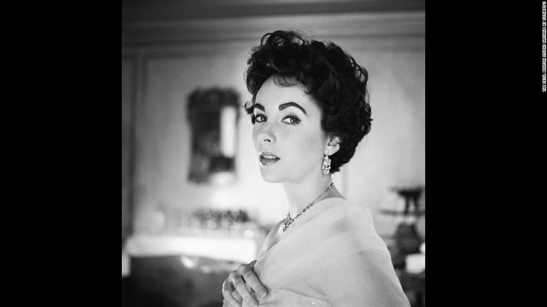 Elizabeth Taylor, on the other hand, lived for the camera, and this 1953 Beaton photo shows her at her most alluring. It's no accident that Beaton photographed beautiful women so well; he was a staff photographer for Vogue and Vanity Fair in the '20s and '30s.