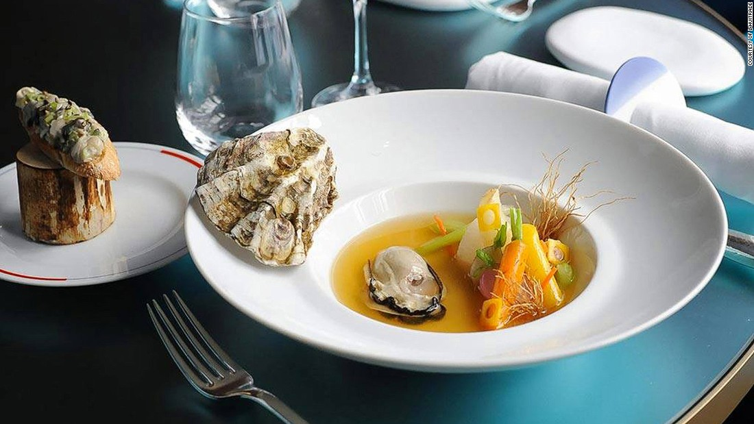 The new trend in Paris is restaurants dedicated to one ingredient or signature dish. L'Huitrade, an oyster bar just off the Champs Elysses, is owned by Michelin-starred chef Guy Savoy. <br />