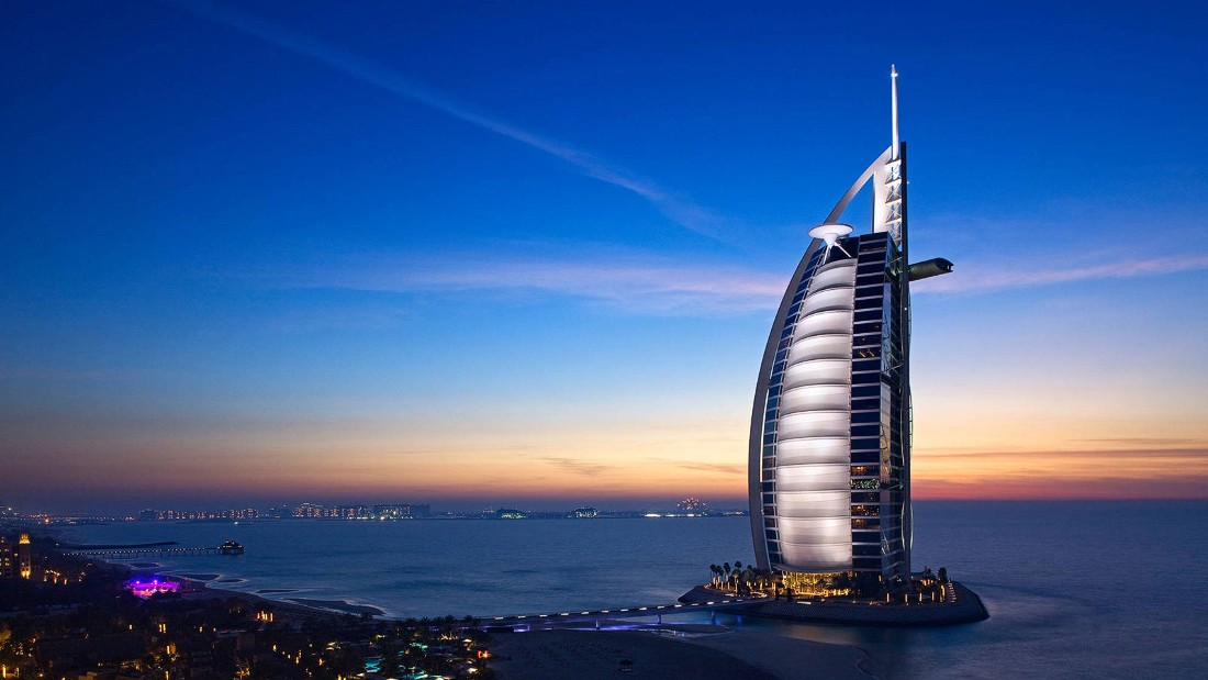 6 extravagant dubai experiences cnn travel for Most expensive place to stay in dubai