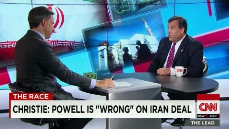 Chris Christie on Iran Lead INTV_00034319