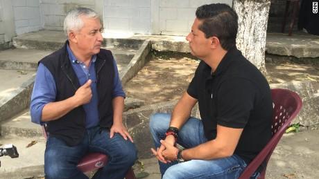 Exclusive interview photos taken at the Military Jail Matamoros in Guatemala City, Guatemala.