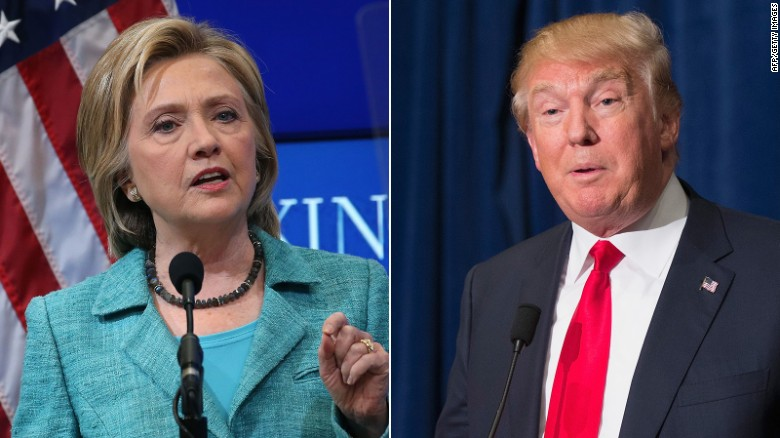 Donald Trump: Clinton shouldn't be allowed to run