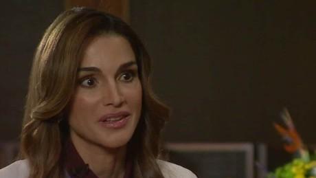Jordan queen rania intv ctw_00051402